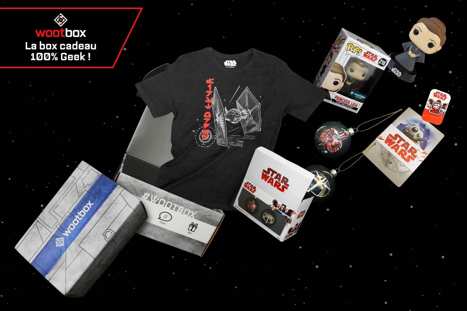 La Wootbox est une belle Mystery Box de produits geek