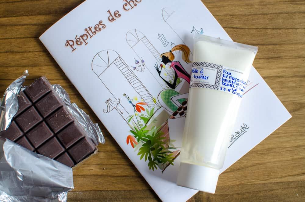 Formule beauté de février 2018 : Pépites de chocolat