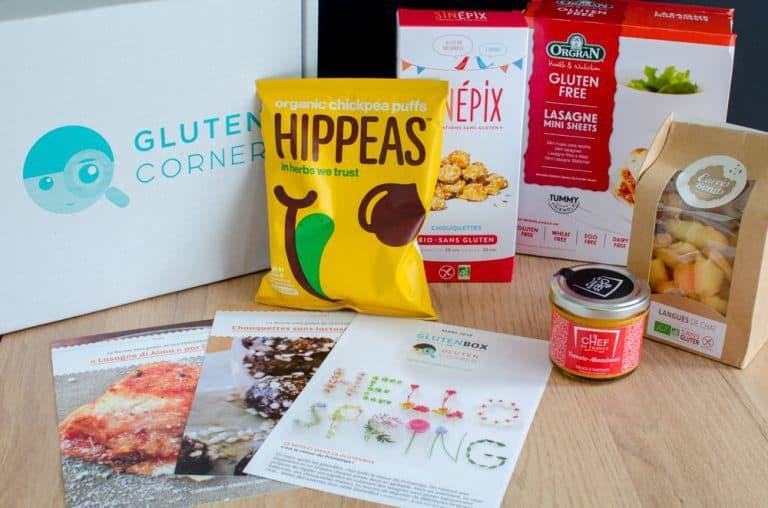 Glutenbox de mars 2018: Hello Spring