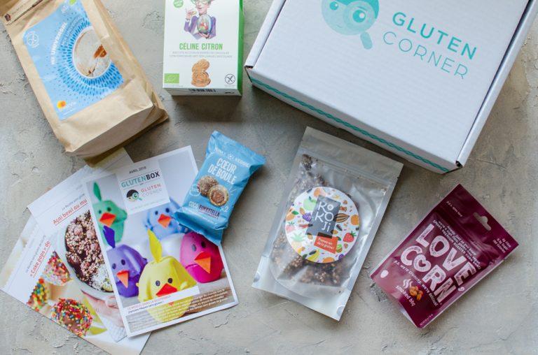 Glutenbox d'avril 2018: Joyeuses Pâques sans gluten !