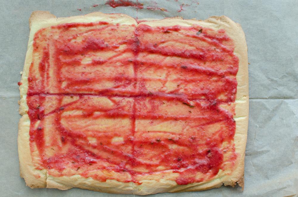 La boite à pâtisser de mai 2018: Roll cake fraises basilic