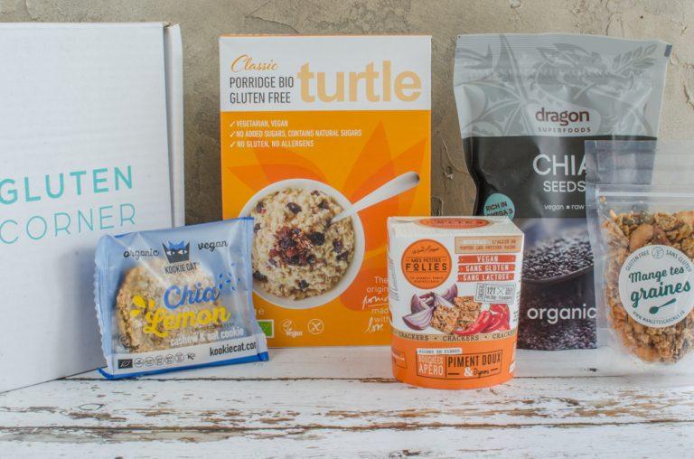 Glutenbox de juin 2018: des graines en folie
