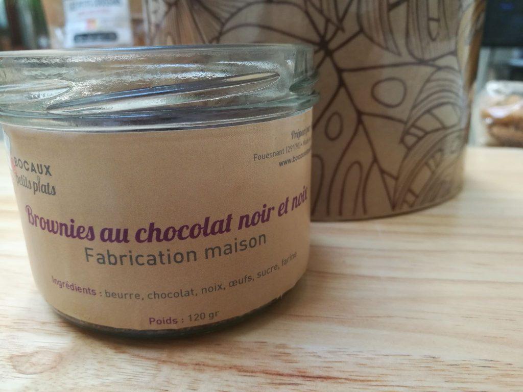 brownie chocolat noix