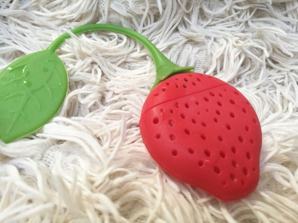 infuseur à thé forme fraise