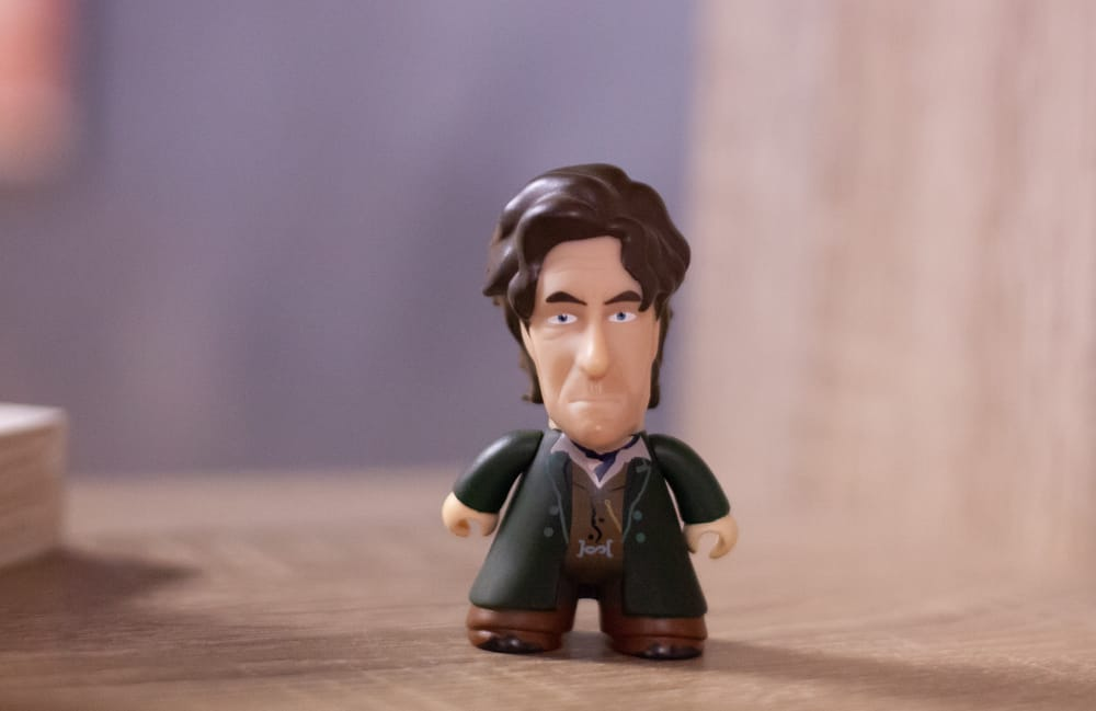 figurine doctor who