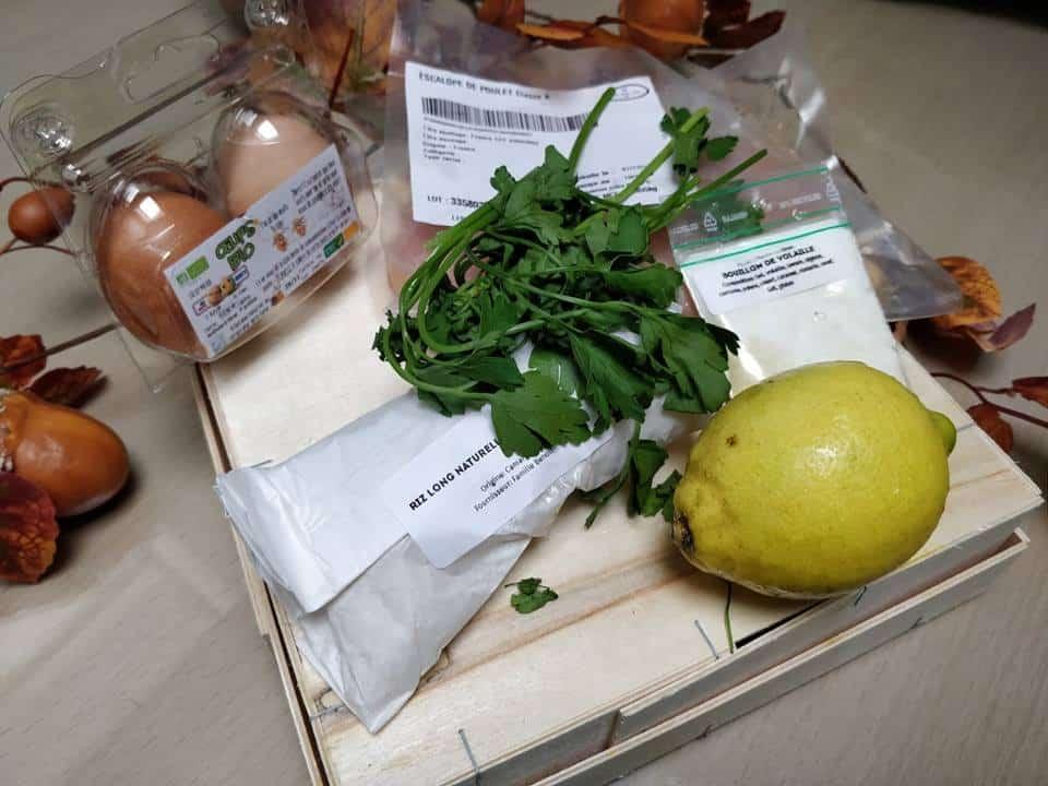 recette poulet effiloché au citron