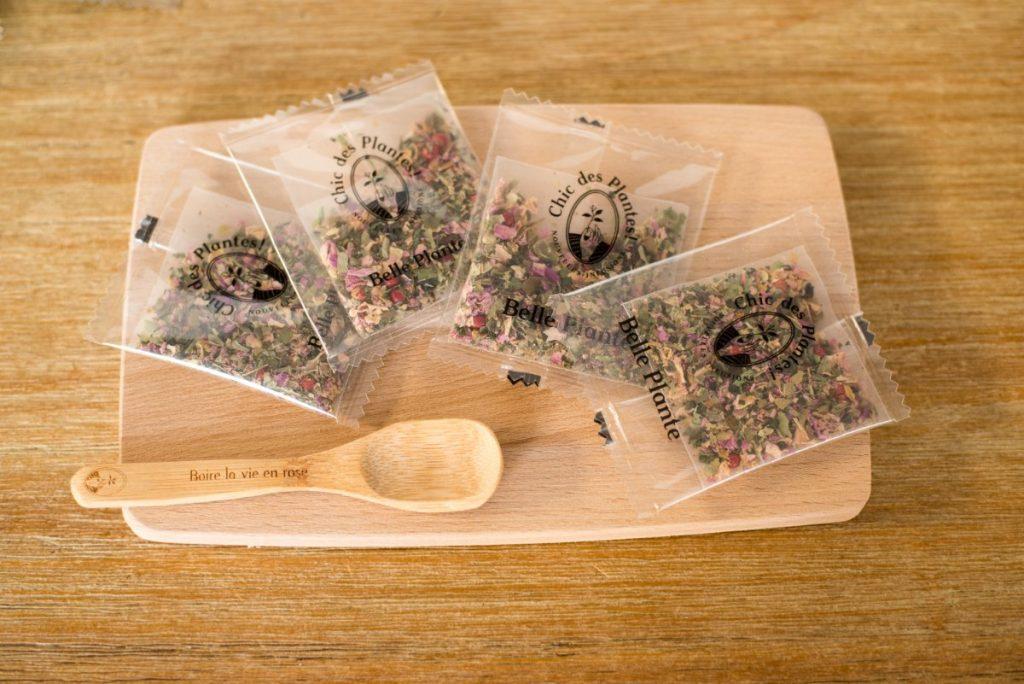 Infusions de la box chic des plantes