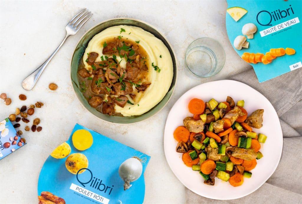 Les repas de Qilibri