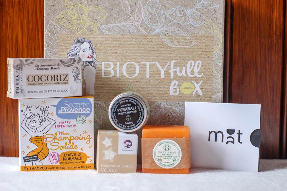 Biotyfull box, une des leader des Box beauté Bio
