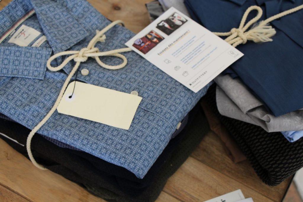 Nous retrouvons dans nos Box Outfittery des lots bien distincts en fonction des styles choisis.