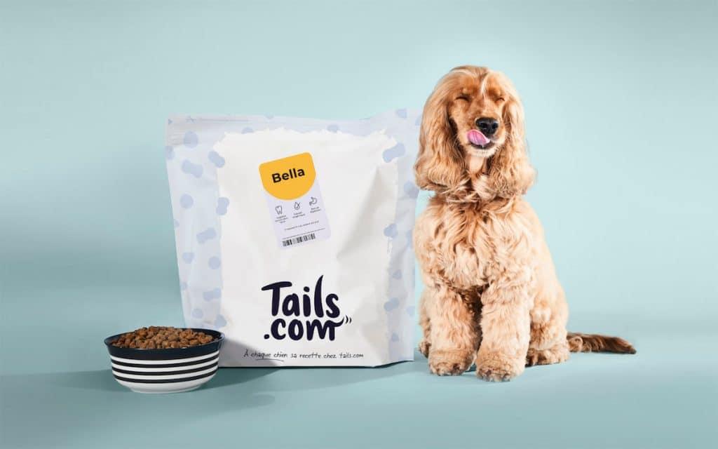 Tails : croquettes sur mesure pour chien