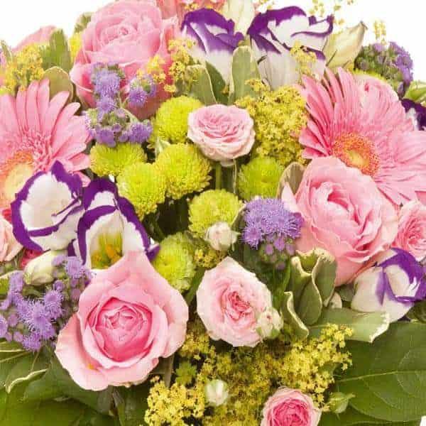 Exemple de bouquet de fleur de la Box Florajet