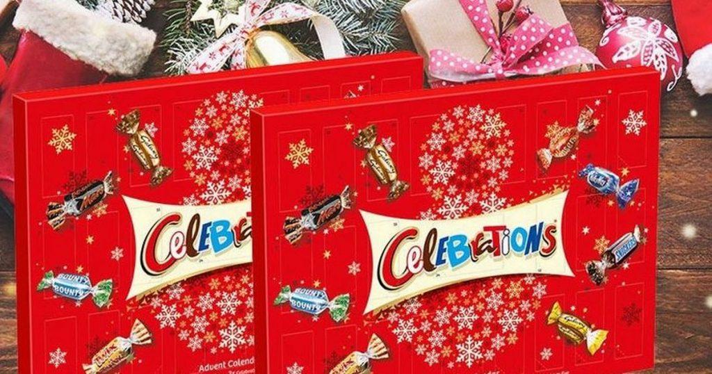 Les calendriers de l'avent celebration feront fureur chez les amateurs de chocolat