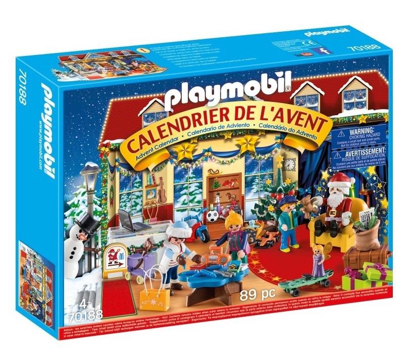 La calendrier Playmobil