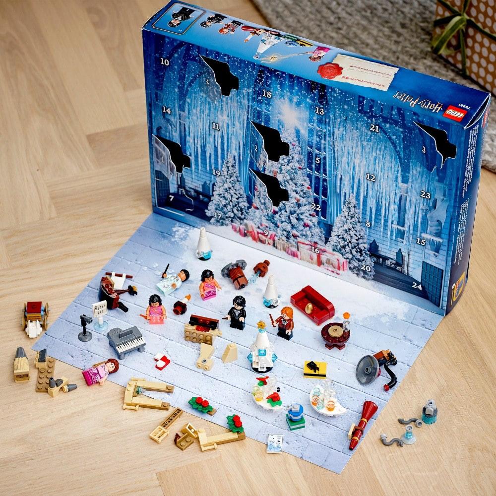 Un calendrier de l'avent pour les plus petits avec des legos à l'intérieur