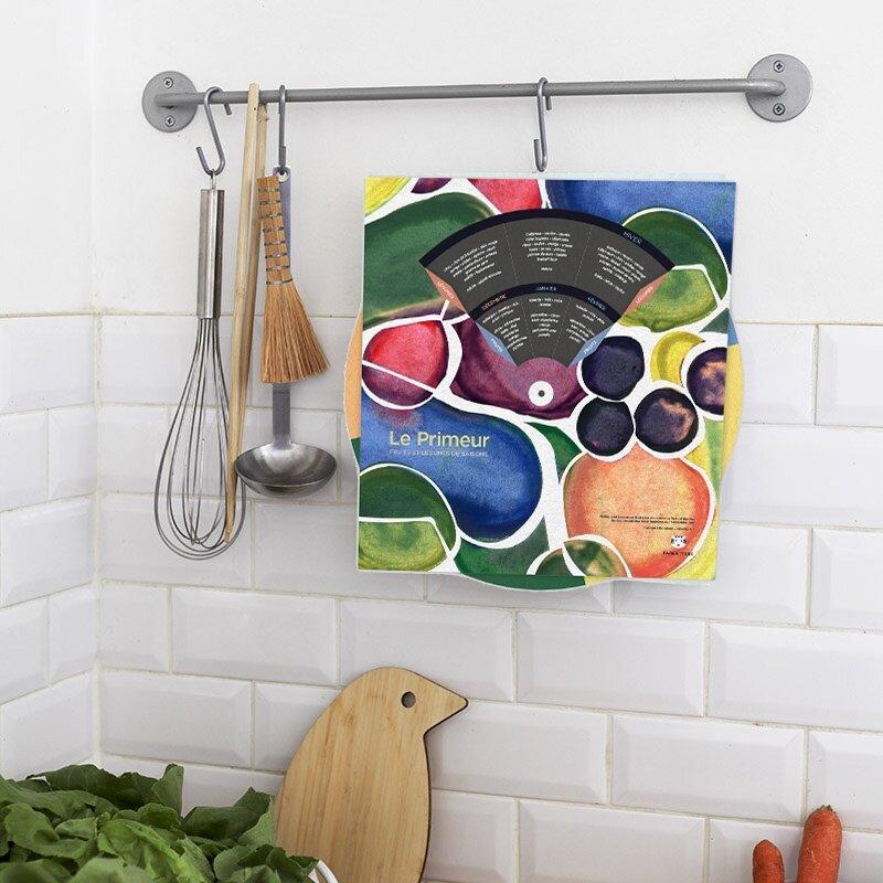 Le calendrier des primeurs, un cadeau très utile pour savoir quand manger ses fruits et légumes