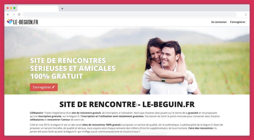 Le Beguin est un site de rencontre totalement gratuit
