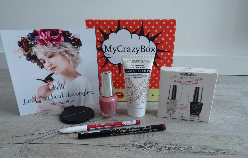 my crazy box octobre