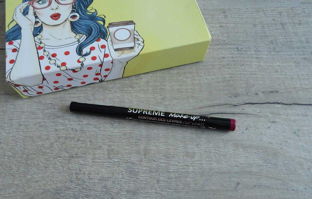 feutre lèvres supreme make up