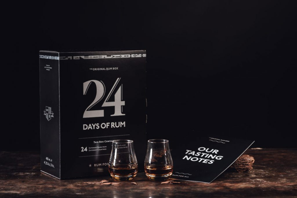 Le calendrier de l'avent 24 Days of Rhum