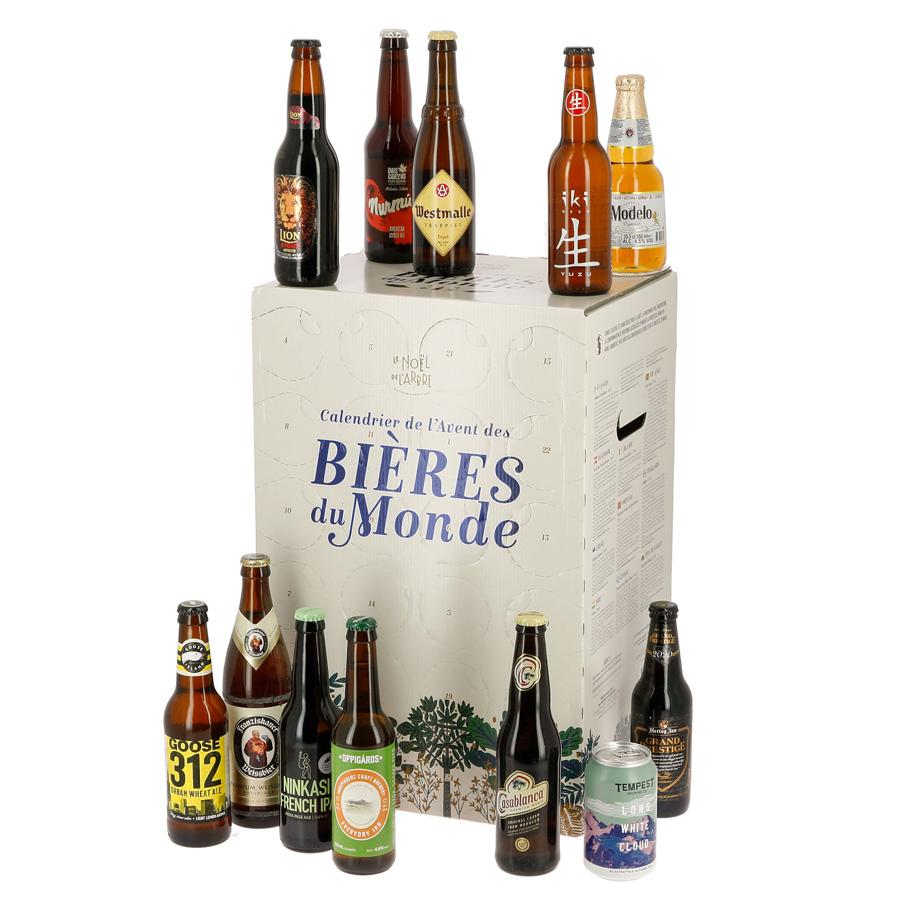 Le calendrier de l'avent Bières du Monde de Nature et Découvertes