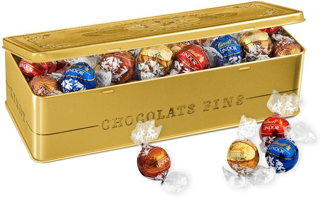 coffret cadeau chocolat Lindt Lindor