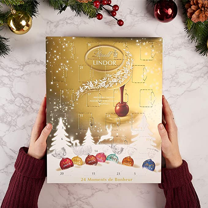 Le calendrier de l'Avent chocolat Lindt