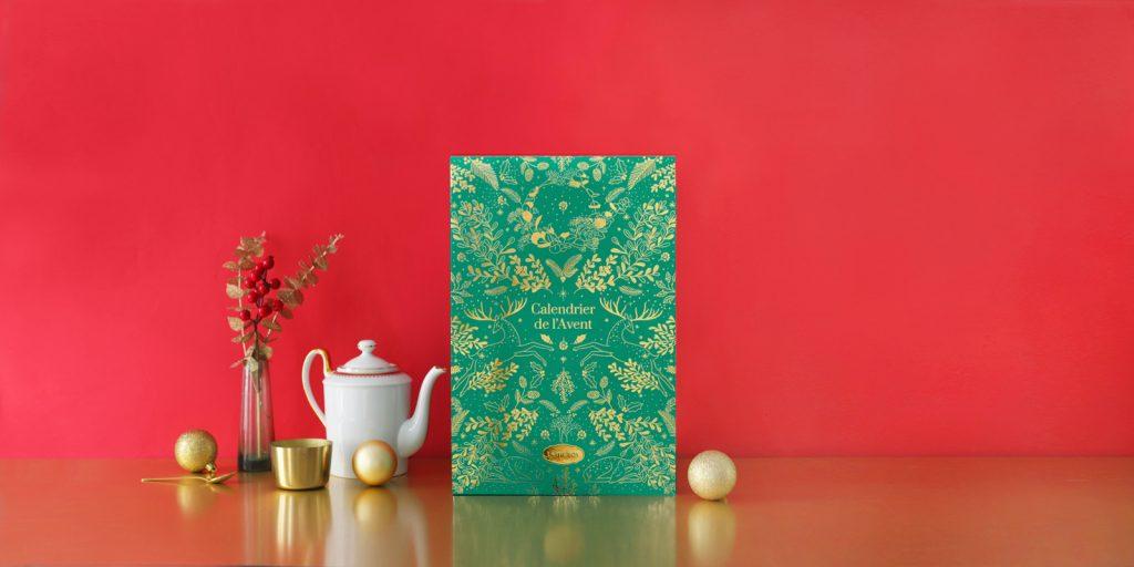 "Le calendrier de l'Avent thé ""La Magie de Noël"""