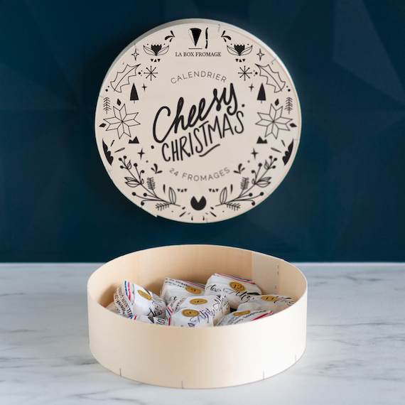 Le calendrier de l'Avent fromage Cheesy Christmas