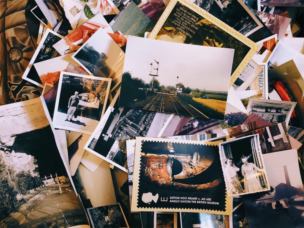 Des souvenirs dans un calendrier de l'avent