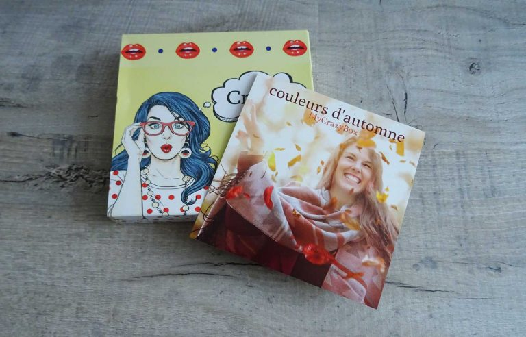 my crazy box couleurs automne
