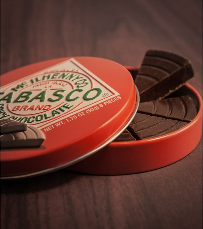 Tabasco Chocolat Spicy, le coffret qui échauffe les papilles