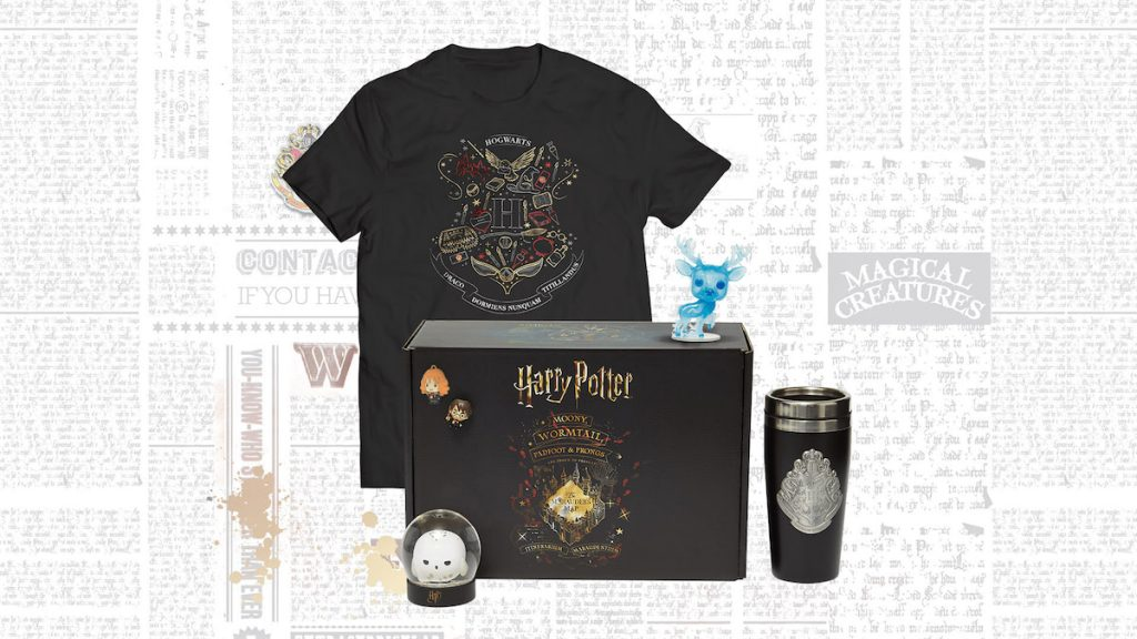 BOX COLLECTOR HARRY POTTER