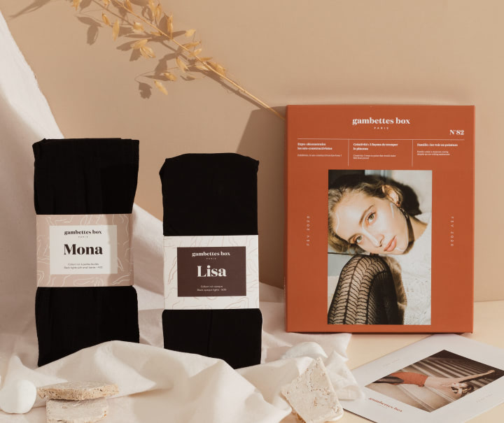 Le packaging de la gambettes Box