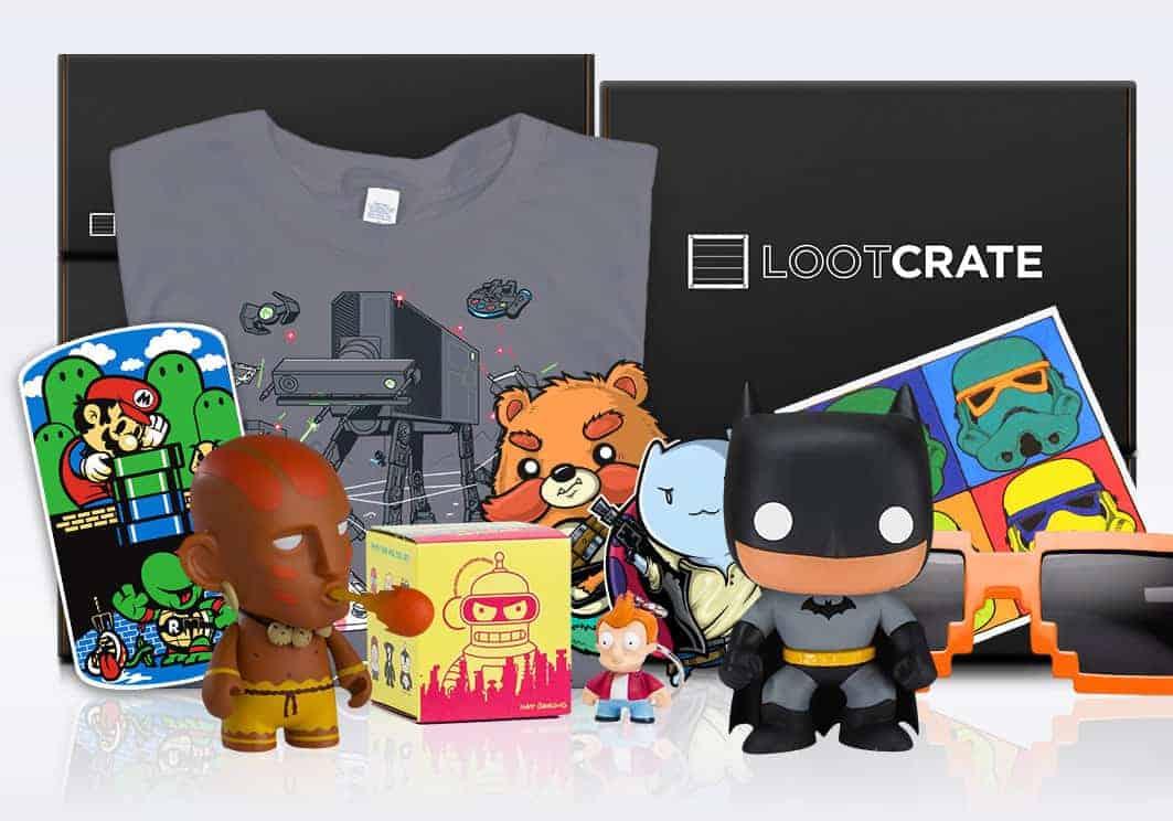 Lookcrate, une Box geek dans laquelle on peut retrouver des Mangas