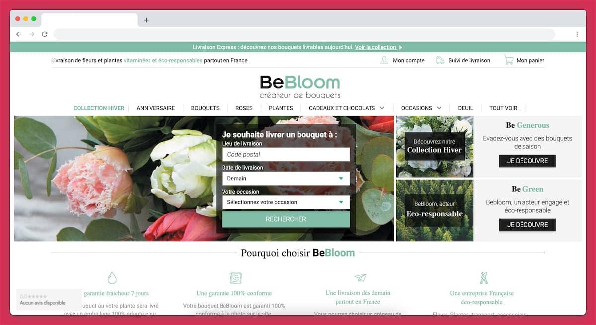 BeBloom : de belles fleurs à domicile