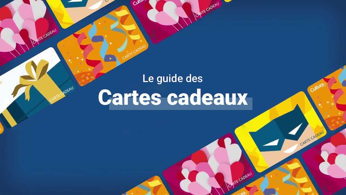 Le Guide Pour Tout Savoir Sur Les Cartes Cadeaux En 2021