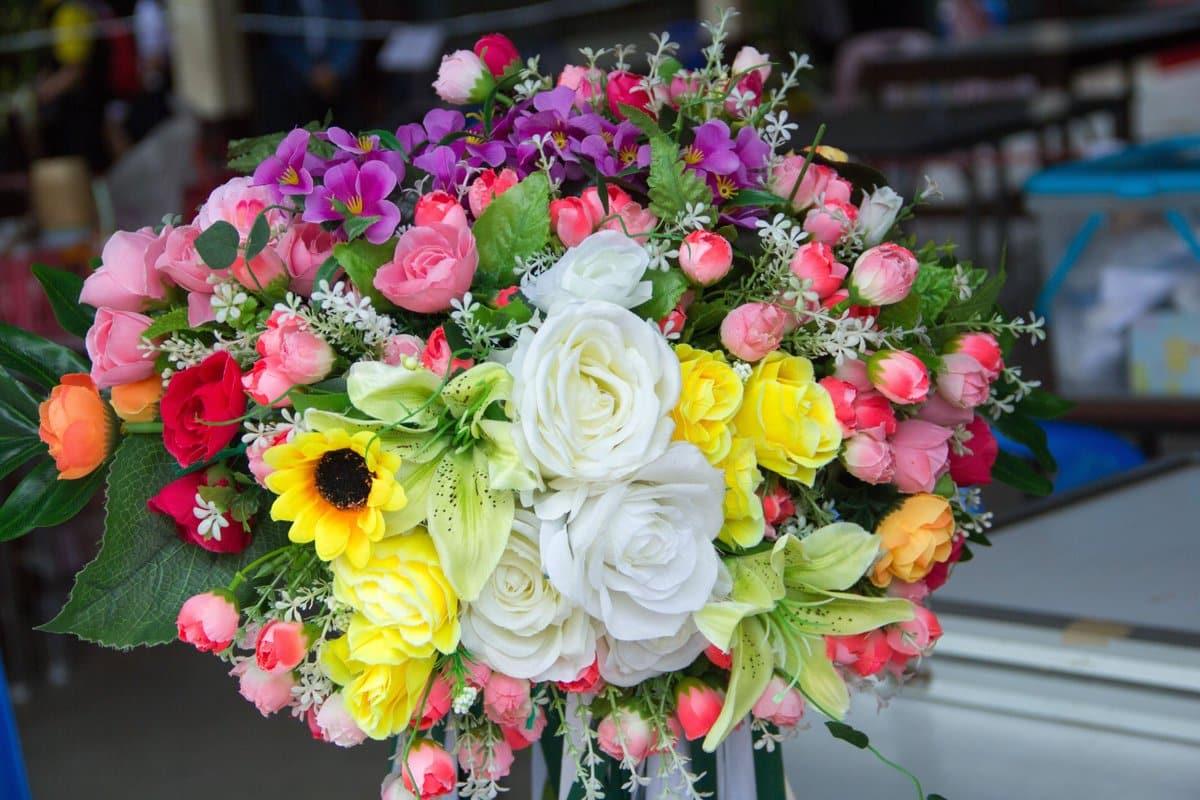 Un bouquet de fleurs de Florajet