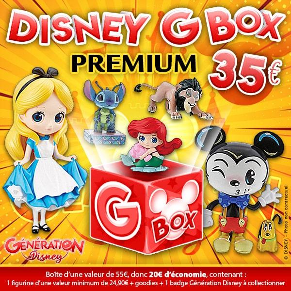 Une Box dédiée à l'univers Disney
