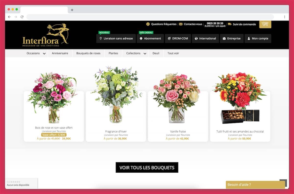 Interflora : une référence dans la livraison de fleurs
