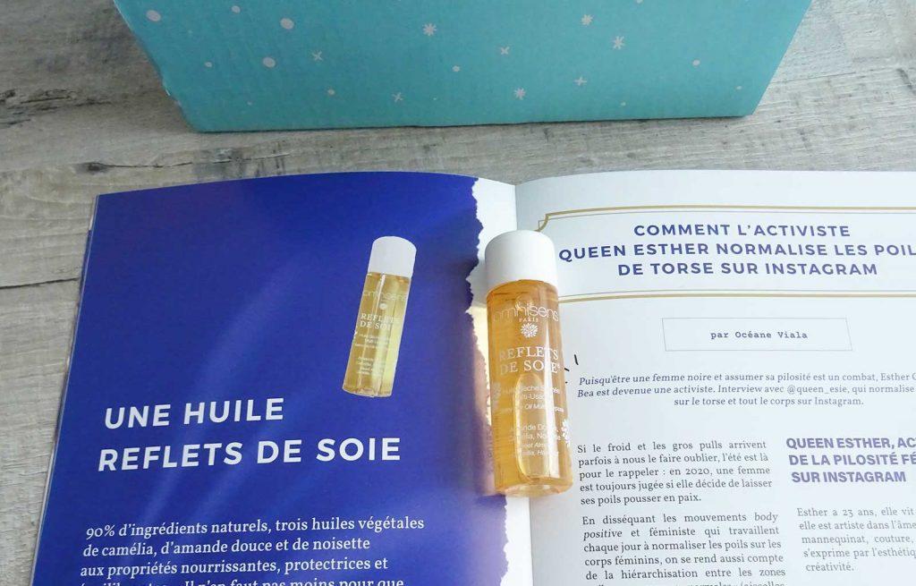 box madmoizelle huile reflets de soi