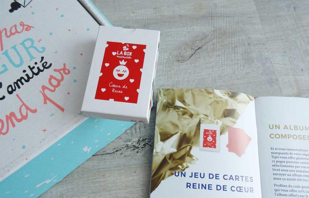 box madmoizelle jeu de carte reine de coeur