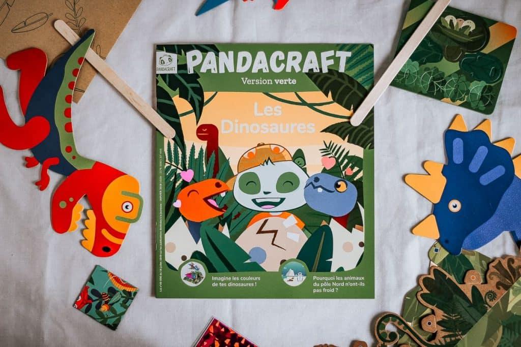 Pandacraft des activités pour enfant par abonnement