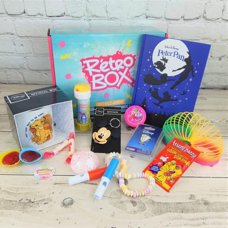 La retro box, pour retomber dans l'enfance avec Disney