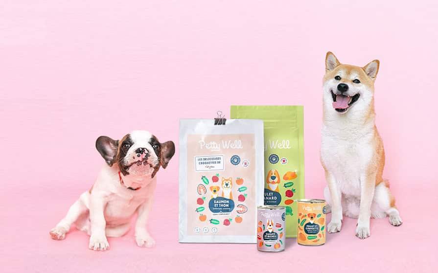 Petty Well : les délicieuses croquettes pour chien personnalisé ou repas faits maison
