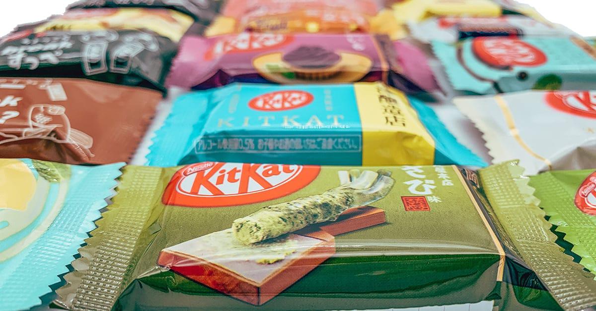 Tokyo Snack Box KitKat Japonais Snacks Japonais Cadeau Japon