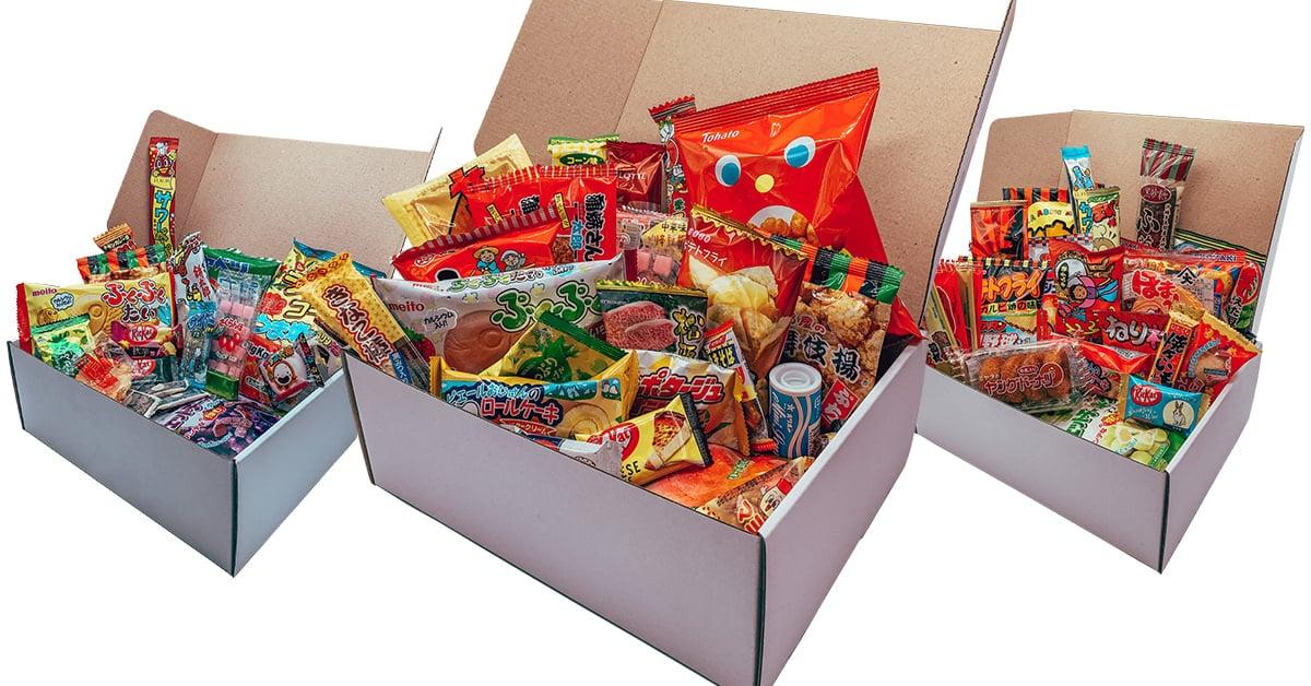 Tokyo Snack Box Box Mensuelle Snacks Japonais Cadeau Japon