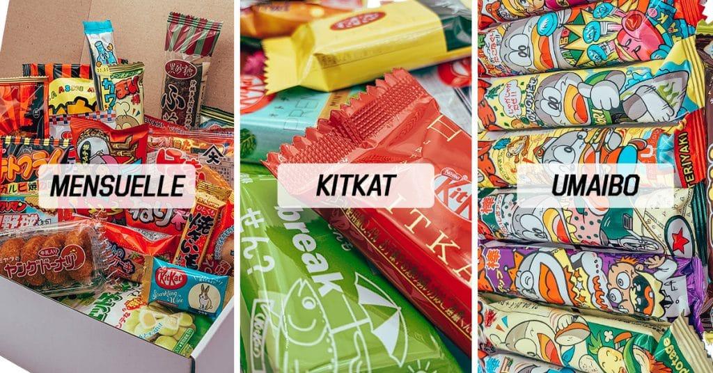 Tokyo Snack Box Cadeau du Japon Snacks Japonais Box Mensuelle