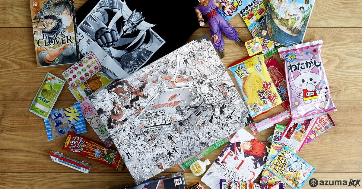 Azuma : la Box manga de Wootbox