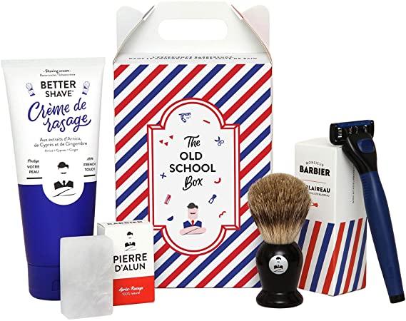 Monsieur Barbier : le coffret rasage qui invite le barbier dans votre salle de bain